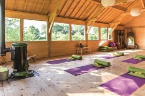 Interieur bois, exterieur verger
