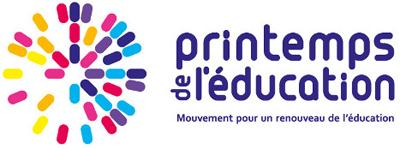 Logo des printemps de l'éducation