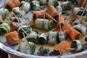 roules de legumes