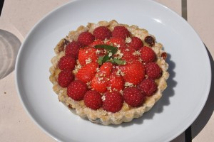 Tartelette aux fruits rouges