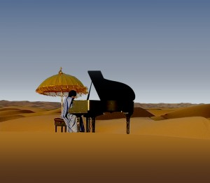 piano sahara