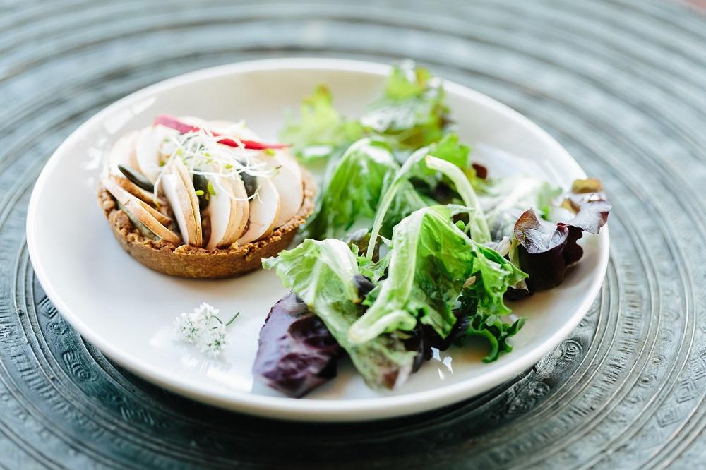 Tarte champignons