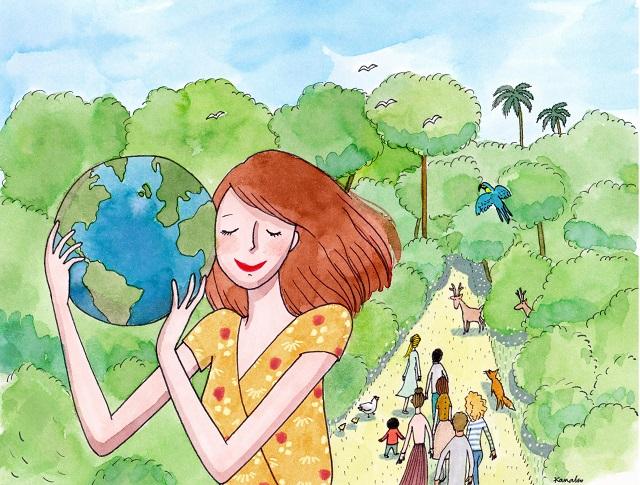 Ressourcement et écologie profonde à l'écoute de l'appel de la Terre