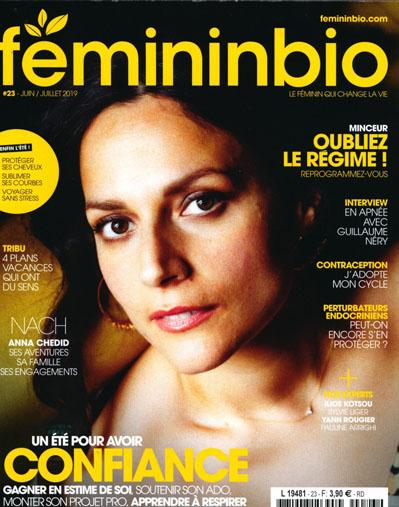 Féminin Bio - Revue de presse - Juin / Juillet 2019