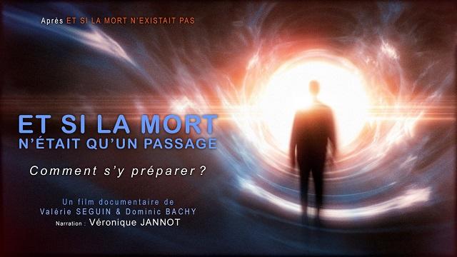 """Projection """"Et si la mort n'était qu'un passage?"""" de Valérie Seguin"""