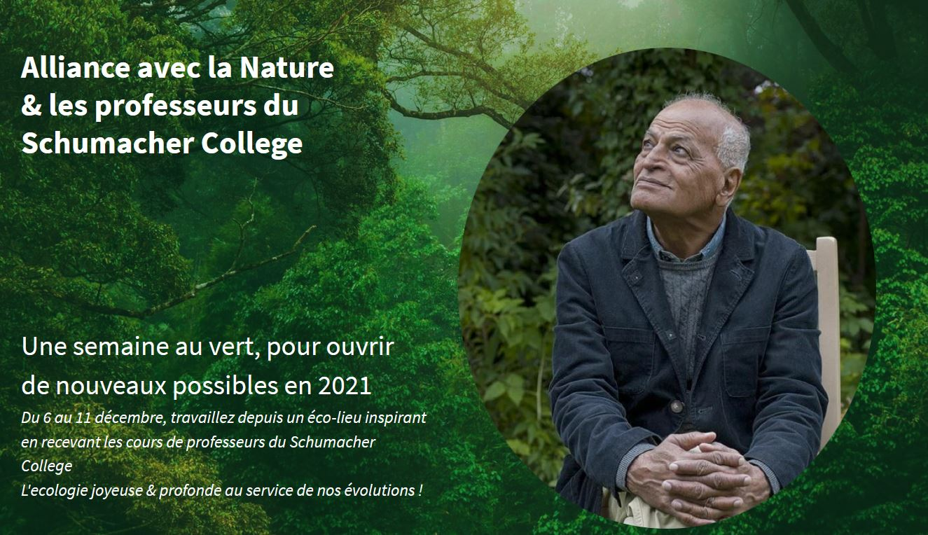 Alliance avec la Nature et les professeurs du Schumacher College
