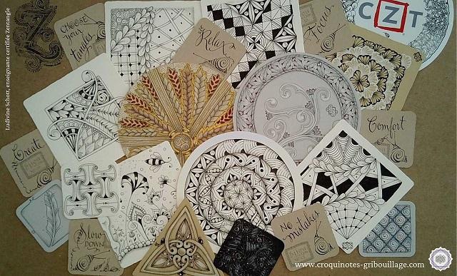 Retraite créative : dessin méditatif avec la méthode Zentangle®