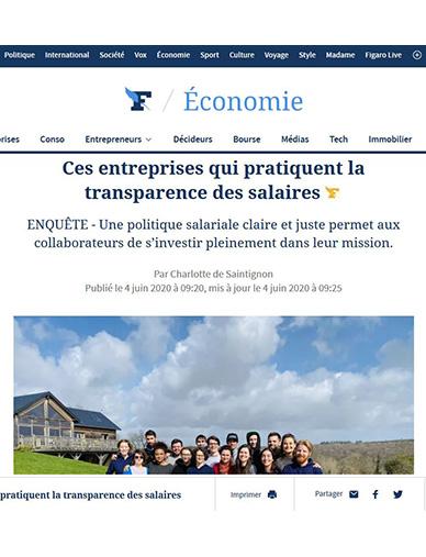 Figaro - Revue de presse - Printemps 2020